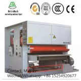 Plywood Heavy Duty Two Heads Calibrate Sander Machine with Automatic Conveyor Line