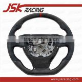 CARBON FIBER STEERING WHEEL FOR BMW 5 SERIES F10 F18 (WRAPPED CARBON) (JSK082024)