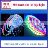 china wholesale Decorative colorful 5050/3528 SMD IP65 Waterproof RGB flexible LED strip