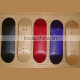 Supply professional finger skateboard new Graphics Canadian maple wood skateboard decks blank manufacturer