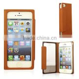 Good performance water proof case for iphone 6 leather cell phone case