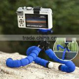 Blue Octopus Style Portable and adjustable Tripod Stand with Mount / Holder (L) for Digital Camera
