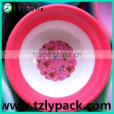 Film color suit for product color, in mould labeling robot, flower