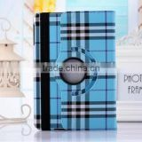 360 Rotating Flip Stand PU Leather Case for iPad Air 2, for iPad 6