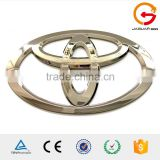 promotional customized metal 3d plastic car logo /custom 3d auto car emblem /abs chrome car badge