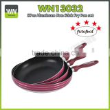 Eco-friendly aluminium rectangular frying pan home master pan high quality printed frypan