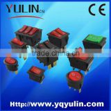 YULIN PA66 KCD1 KCD8 KCD4 ON OFF 125VAC Rocker Switch