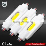 1W COB mini led Module super brightness cool white 12v ip67 CE Rohs certificate MIi Led module for outdoor billboard