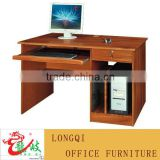 competitive price high quality wood office executive desk computer desk design pc table china foshan longjiang lecong