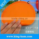 cheap silicone pet toy frisbee dog flying disc