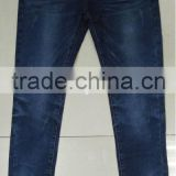 New arrival women fashion jeans with rhinestones, buy jeans in bulk china wholesale