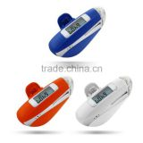 5 Steps Error Correction pedometers Emergency Siren Torch Light pedometers with 3 white LEDs