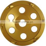 PCD Grinding wheel used for floor coating removal epoxy and paint grinding
