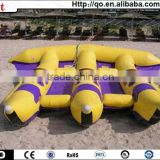Hot sale unique giant inflatable water games flyfish banana boat