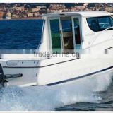 WATERWISH QD 32 cabin cruiser fiberglass fishing boat made in China
