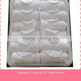 INquiry about 25*25cm cheap airline hot towels