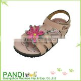 China manufacture popular fashion kid PU sandals for girl