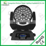 Lowest price 36pcs10W outdoor gobo mini beam platinum sharpy dimmer fluorescent motorized linear stage light beam rotate light