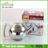 Middle-east market portable hot water kettle/non-electric tea kettle/turkish coffee kettle