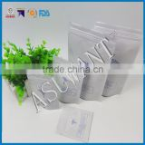 Black mylar smell proof ziplock bag cannabis /resealable bags tobacco sales on Alibaba                                                                         Quality Choice