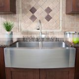 Apron front farmhouse sink stainless steel kitchen sink                                                                         Quality Choice