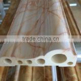 Imitation marbled / wooden PVC windowsill, PVC door frame lines and PVC decorative lines
