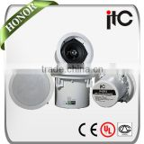 ITC IP-S508 Series Hot Sale Ceiling Mount Hifi TCP IP POE Speakers                                                                         Quality Choice