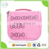 China Top Selling Cute Waterproof Heat Resistant Cosmetic Bag Travel With Clear Compartments