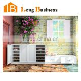 LB-JX5033 Living room furniture modern models shoe rack wood shoes rack, cabinet with drawers