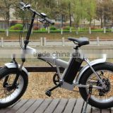 Rear hub motor folding e bike 20inch FATBOY ebike for sale