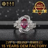 factory wholesale 18K gold plating 925 sterling silver jewelry Gem opal powder natural gemstone rings