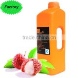 Professional Supplier Lychee Flavored Fruit Concentrated Juice for Beverage Mixing