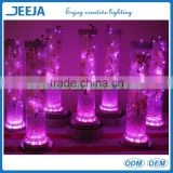 Crystal Wedding Favor Acrylic LED Light Base Banquet Hall Supplies