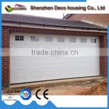 Made in china galvanized steel PU foam insulated garage door remote control with window insert