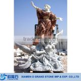 Garden Decorative White Jade Sculptures For Sale Fat Lady Sculpture Marble Sculpture