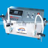semi-automatic two heads hair gel filling machine
