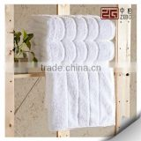 Factory Supply Pure White Hotel Towels 16s Terry Cotton Wholesale Bath Towel                                                                         Quality Choice