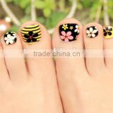 Beauty Stickr Water transfer nail toe stickers, shinning stars nail decal stickers, 3d nail stickers