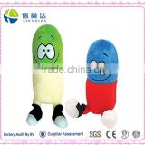 Happy Laughing Plush Doctor Capsule Filling Stuffed Toy