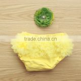 cute baby diapers baby yellow bloomers