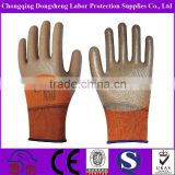 13G Polyester Shell Anti-Acid Oil Proof nitrile oil field work glove