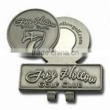 custom golf hat clip/ metal hat clip/ golf ball marker                                                                         Quality Choice