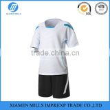 new short sleeve customized soccer jersey Men's cheap soccer uniforms for teams printed sports wear