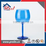 Factory Direct Sales cheap unbreakable plastic wine glass,Colored wine cup,high grade goblet