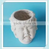 ceramic bisque cry baby flower pot bisque cry baby planter
