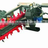 trencher for skid loader, bobcat loader ,skid steer loader, attachment for wheel loader