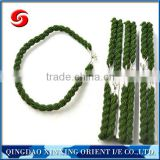 Trouser twists elastic polyester string/rope with hooks
