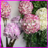 wholesale real touch plastic stem silk daffodil ball flower