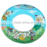 Inflatable swimming float pool swim ring/inflatable adult swim ring/plastic inflatable swim ring