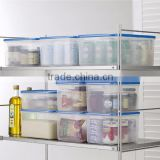 Hot-selling and Easy to use plastic storage shelf food container with multiple functions
